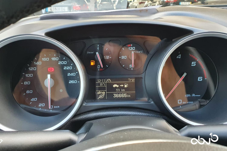 Alfa Romeo Giulietta  1.6 JTDM Super  Fátima Abreviatura