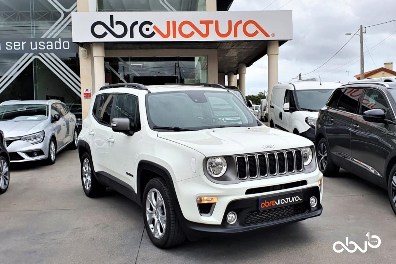 Jeep Renegade  1.6 MJD Limited DCT  Fátima Abreviatura