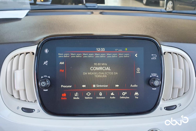 Fiat 500  1.2 Lounge  Fátima Abreviatura