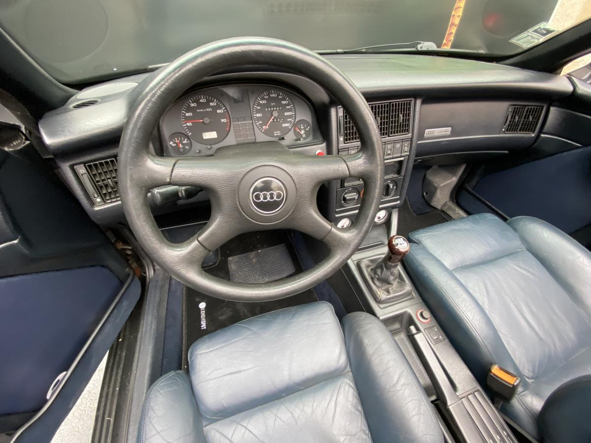 Audi 80 2.3 i  cabrio 5cilindros